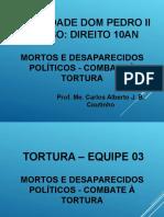 Slide - Mortos e Desaparecidos Políticos - Combate à Tortura