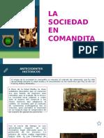Derecho Comercial en Comanditai