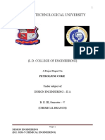 (d.e.petcoke Final Report)Gujarat Technological University