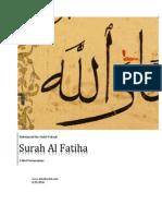Tafsir Surah Al Fatiha