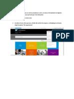 Instructivo SAP E-Learnings