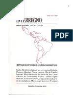 Interregno. Revista de Poesía . No 20, Junio 2010