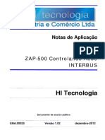 Zap500 Controlando Rede InterBus