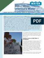 Renew America's Water