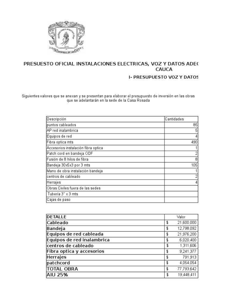 Como Se Hace Un Presupuesto De Obra – Cecoc.info