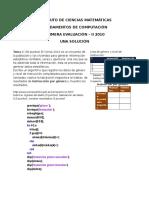 Examen Primera Evaluacion II 2010 Solucion