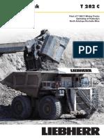Liebherr t 282 c Job Report Peabody North Antelope Rochelle Mine
