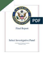 Select Investigative Panel Final Report