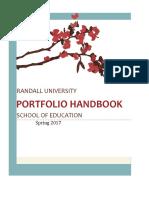 Portfolio Handbook