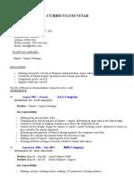 SampleResume-ExportImportManager.doc