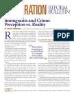 argumentative essay on immigration pdf   immigrationimmigrants and crime  perception vs  reality  cato immigration reform bulletin no