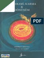 Stephen Arroyo Astroloji,Karma&Dönüsüm c s 1