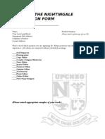 UPCNSO-TN APP FORM