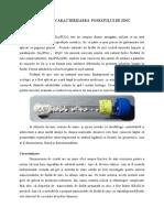 Sinteza Și Caracterizarea Fosfatului de Zinc