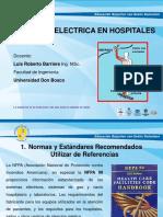 Seguridad Electrica Hospitalaria 2016
