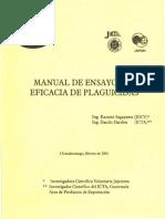Manual de Ensayos Eficacia Plaguicidas ICTA JICA Dardon-Sagayama 2001