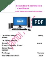 Caribbean Secondary Examination Certificate