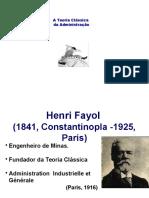 Teoria Classica Fayol