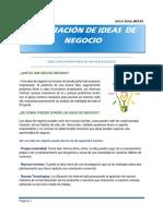 4.Generaciòn de Ideas de Negocio_paso a Paso_emprender Hacia La Cumbre.2017