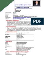 Curriculum Vitae Antonio Sousa - Noviembre 2014
