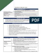 DC Encargado Soporte y Servicio Técnico de Redes - Contrata