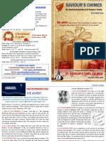 Saviour's Chimes Church Newsletter - December 2016