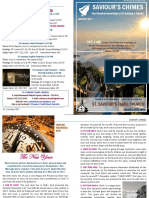 Saviour's Chimes Church Newsletter - January 2017