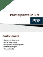 Strategic Management - participants