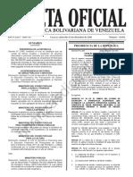 Gaceta Oficial 41052 Decreto 2602