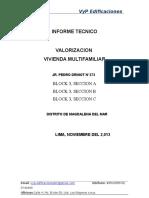 Valorizacion Del Inmueble-magdalena 1,2,3,4 Piso