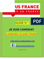 1 Guide Campus  France Maroc 2016-2017 1- Je prépare mon projet d'études.pdf