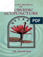 Frank Ros - The Lost Secrets of Ayurvedic Acupuncture