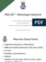 Aula 1 - EnG 207 Metrologia