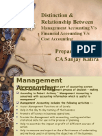 Management Accounting Overview