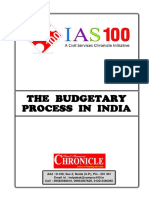 The Budgetary Process in India