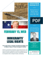IMMIGRANTS' LEGAL RIGHTS
