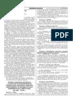 Decreto Legislativo Que Regula La Ejecucion de Intervencione Decreto Legislativo n 1274 1466244 2