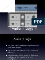 Audio in Logic