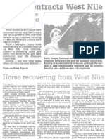 Horse Contracts West Nile Sept. 7 2002