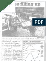Lakes Filling Up, Jan. 14, 2003