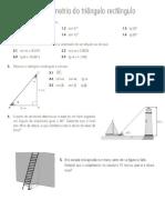 Trigonometria Matemática 9ºAno