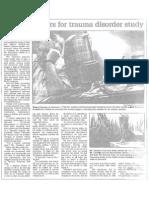 Man Volunteers for Trauma Disorder Study, Dec. 10, 2002