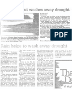 Wet Fall All but Washes Away Drought, Nov. 22, 2002