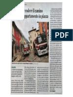 2017 01 13 LECO DI BERGAMO Cerca Di Accendere Un Camino Brucia Un Appartamento in Piazza