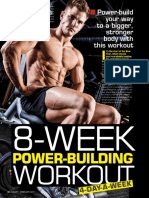 Fitness His Edition - US 2017 1-2 Jan-Feb - 8 Week Power Building Workout