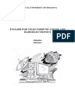English for Telecommunications and Radioelectronics PDF