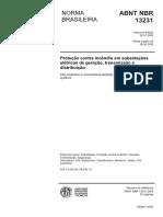 NBR 13231 - 2005 - Protecao Contra Incendio Em Subestacoes Eletricas de Geracao, Transmissao e Distribuicao