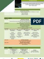 Programación 3er Congreso Iberoamericano de Cultura