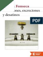 Secreciones, Excreciones y Desa - Rubem Fonseca