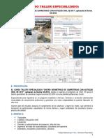 Curso Taller Teorico y Practica Diseño Geometrico de Carretera Con AutoCAD Civil 3D 2017 DG-2014